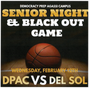 Senior Night & Black Out Game